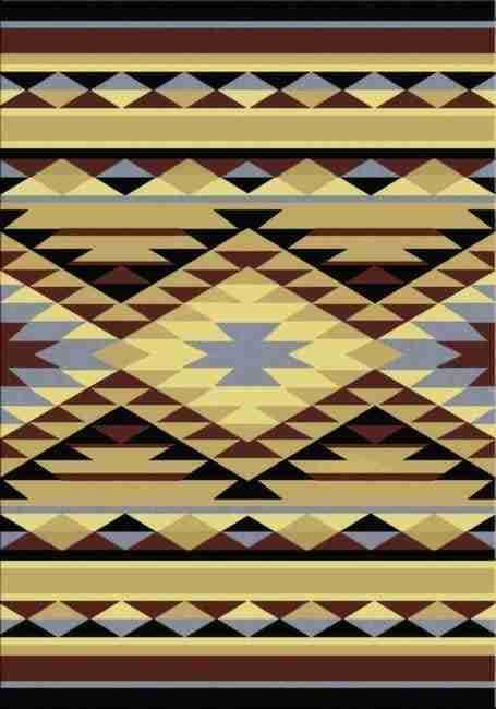 Sallisaw | Southwestern Rugs by American Dakota--FREE SHIPPING