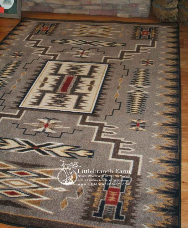 Storm Catcher Southwestern rug
