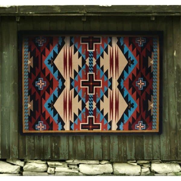 Rug wall art.