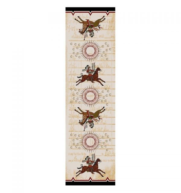 Battle Records Southwest Area Rug