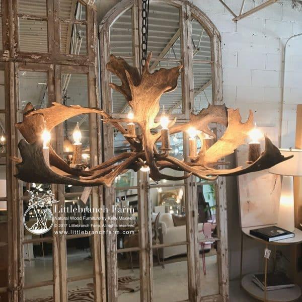 rustic chandelier