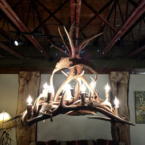 Custom Antler Chandelier