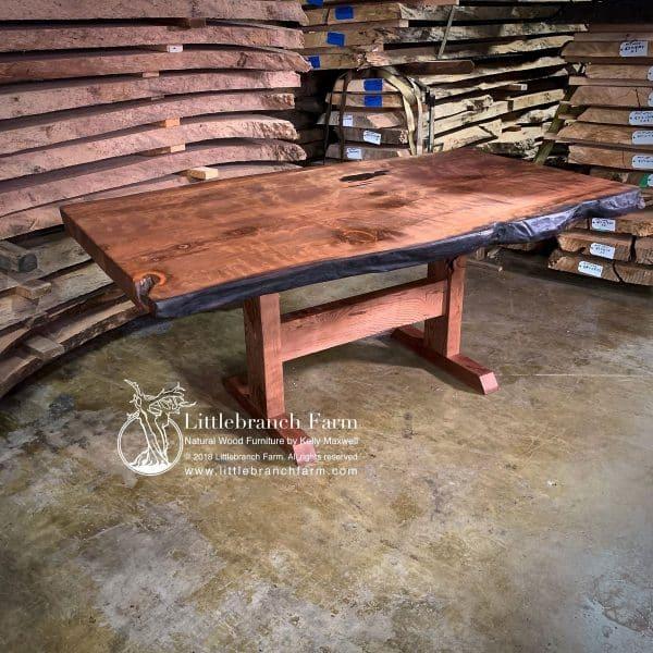redwood live edge furniture