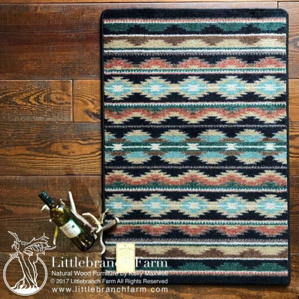 Saddle blanket rug