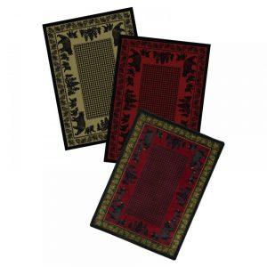 Cabin fine area rugs