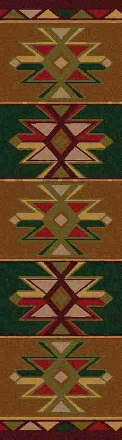 southwestern runner rug
