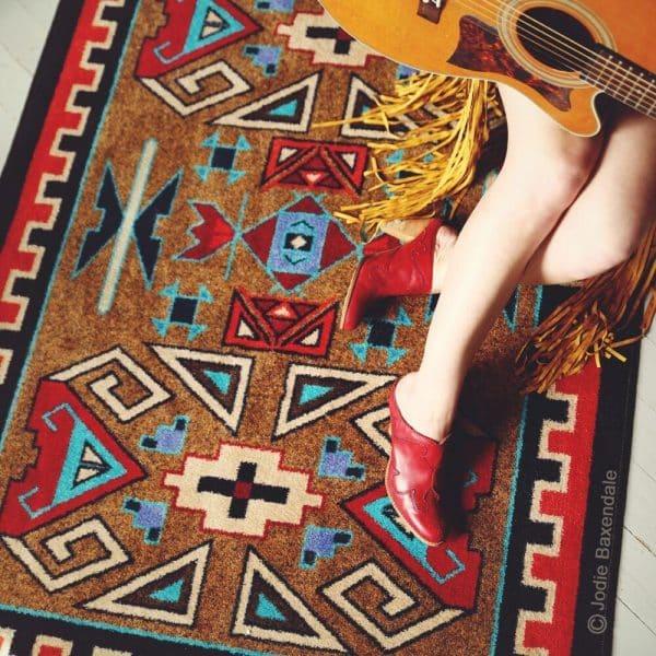 Four Ram rug true colors picture