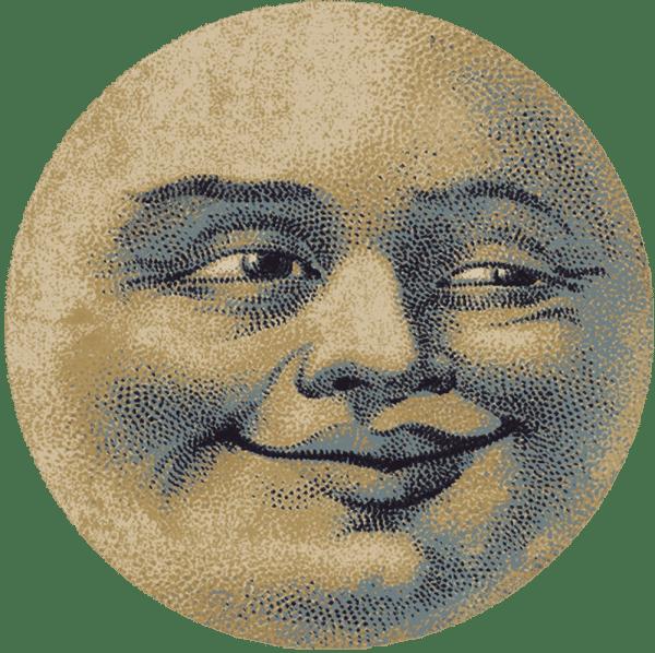 Novelty Rug of the moon