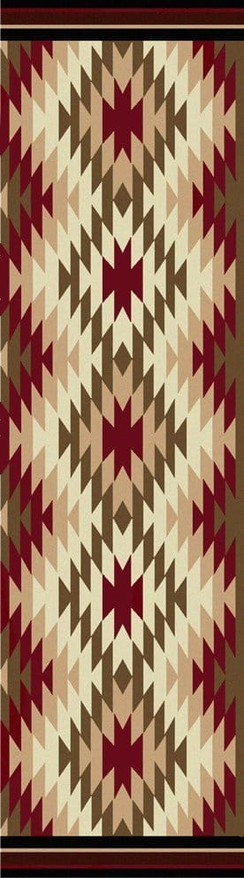 Southwest runner rug
