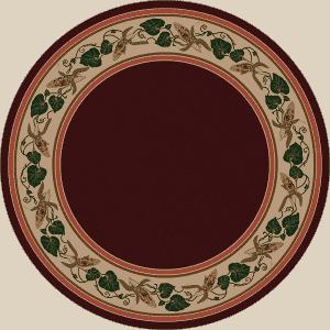Three Sisters round rug