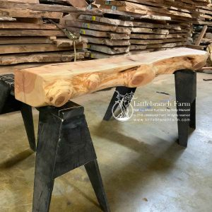 Juniper rustic fireplace mantel