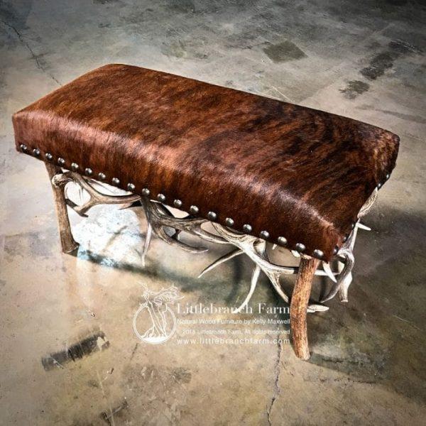 Custom antler furniture