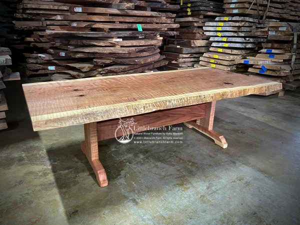 Natural wood furniture design