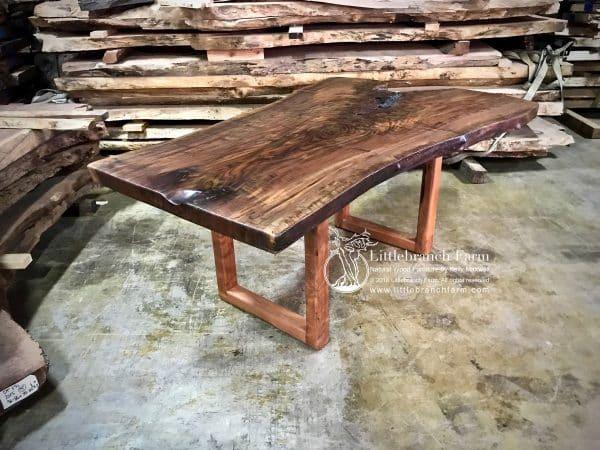 Live edge wood rustic table
