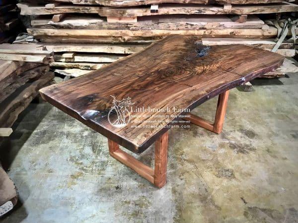 Quality live edge wood table