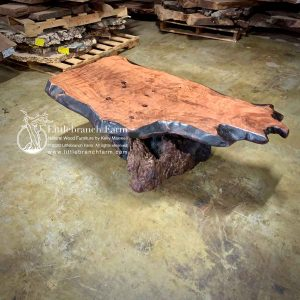 live edge wood coffee tables