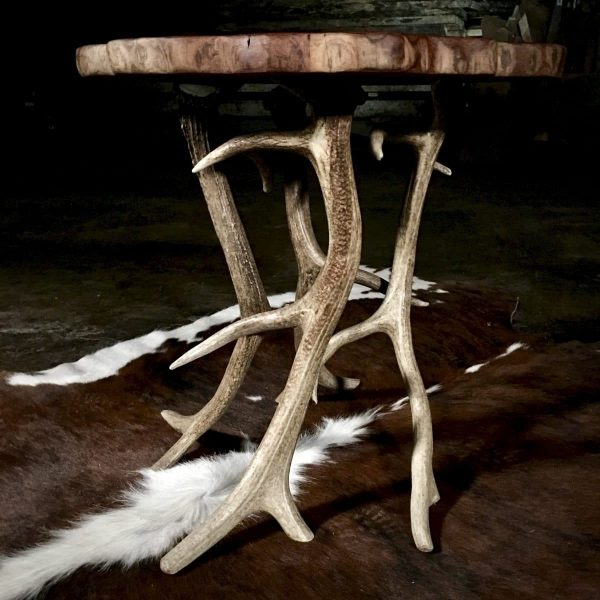 Real elk antler base