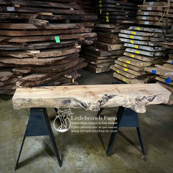 Gnarly maple wood beam.