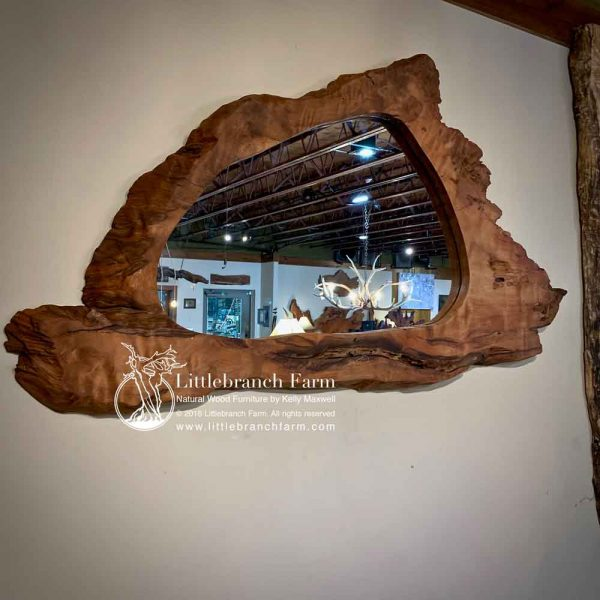 Live edge furniture and decor
