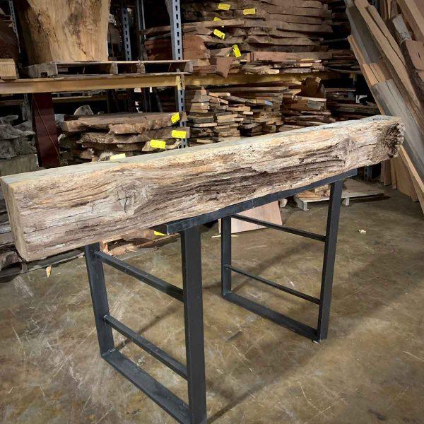 Reclaimed wood beam