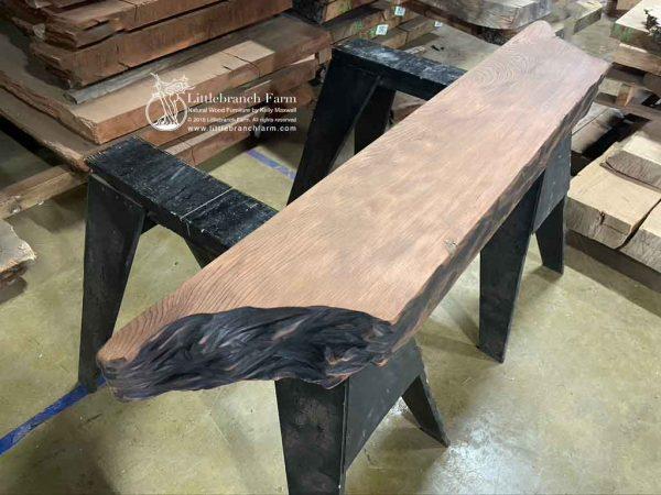 redwood wood plank.