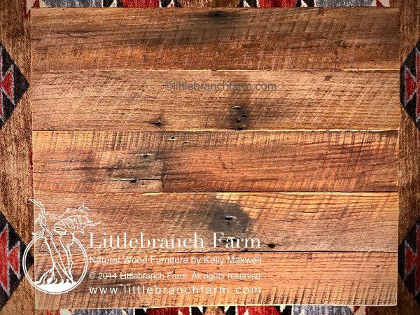 Barn wood coffee table