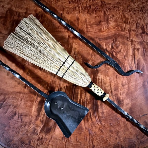 Custom fireplace tools