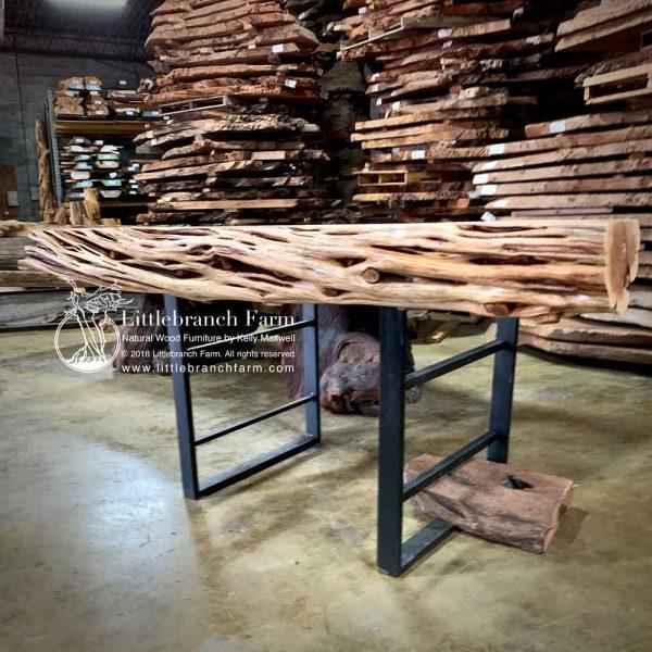 Gnarly natural wood