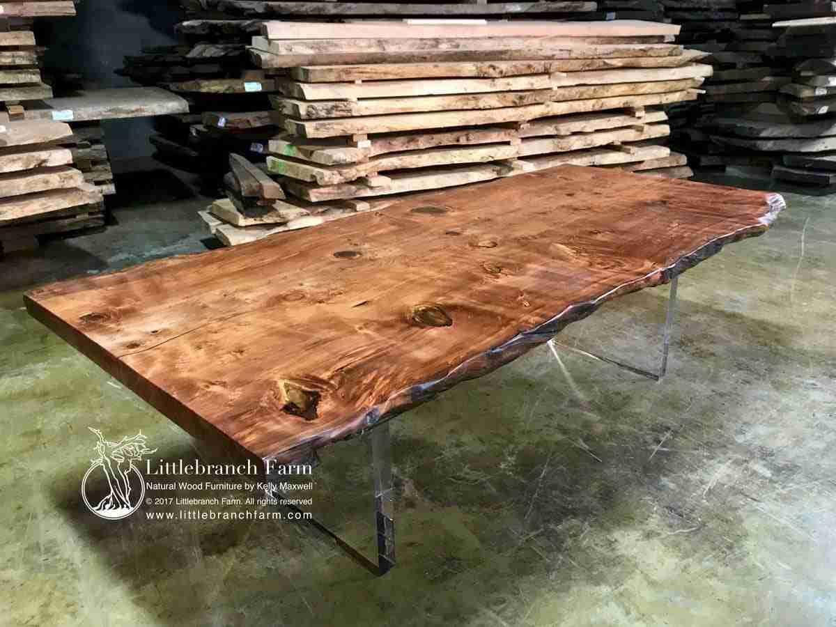 Wood Slab Dining Table