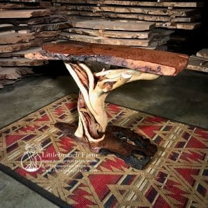 Juniper log table