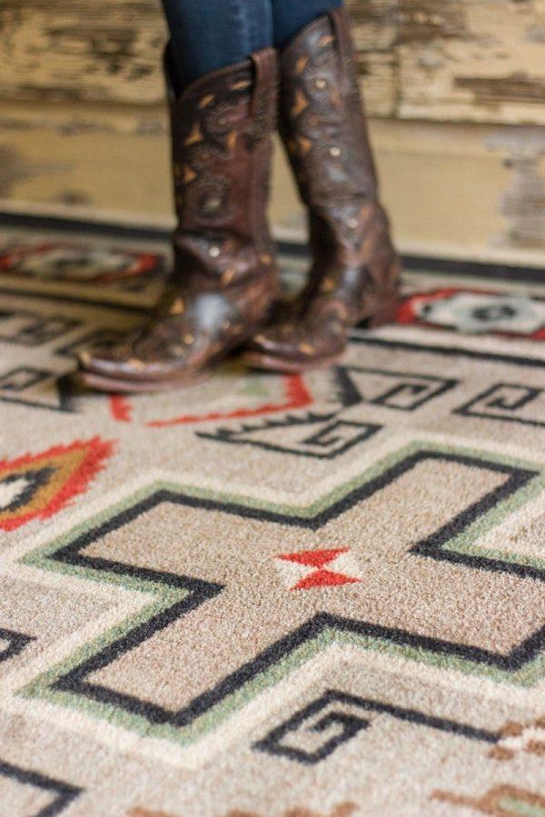 western rug