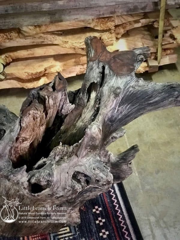 Weathered driftwood