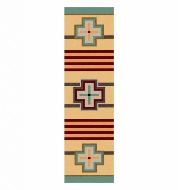 Pail runner rug