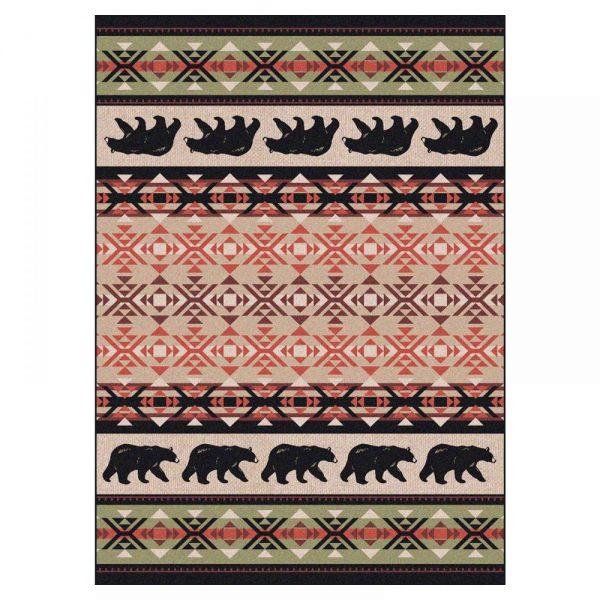 Fine bear rug