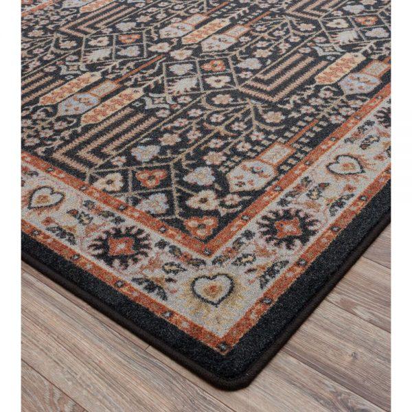 True color and closeup of rug design