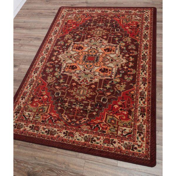 Persia blaze rug design and details