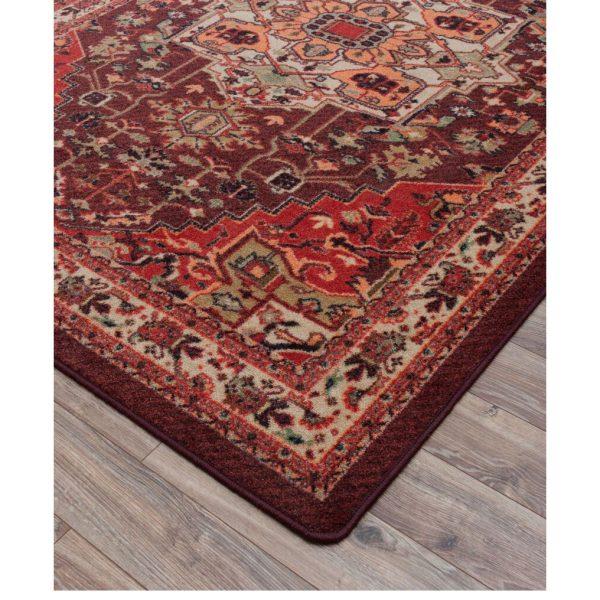 Details of persia blaze rug design