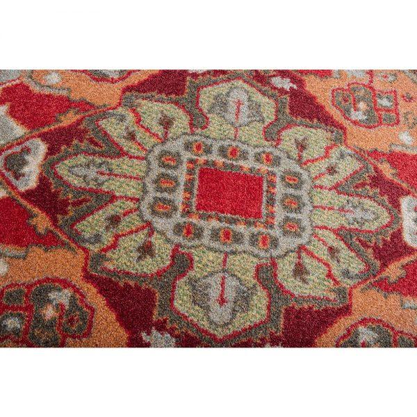 Glow rug closeup of colors