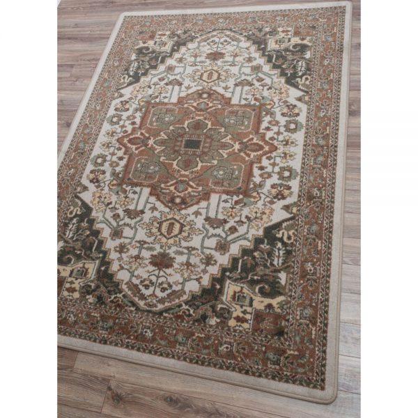 Artistic pastel rug