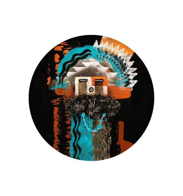 Native mask rug