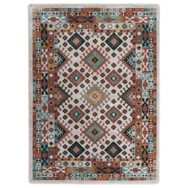 quilted patchwork rug design