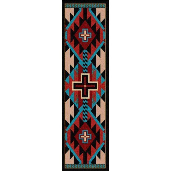 southwest style runner rug