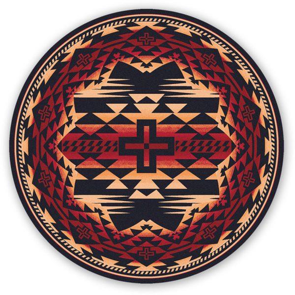 Southwestern rug design