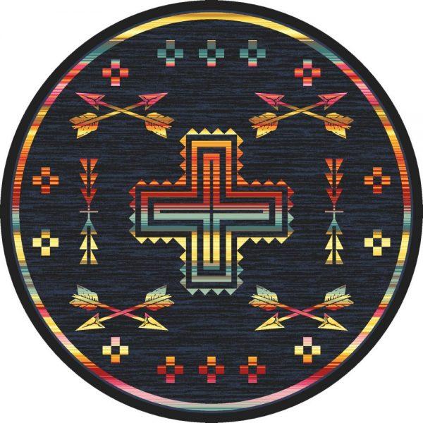 arrow rug