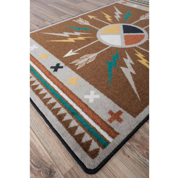 Fun southwestern rug design