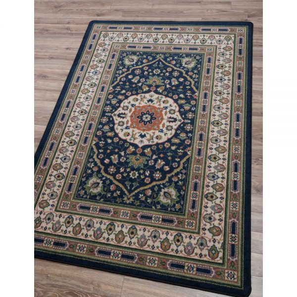 Zanza Gallant Persian Rug in gray