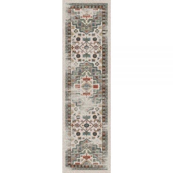 worn looking new rug design