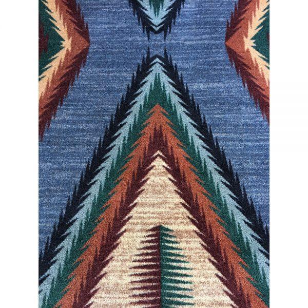 Raxxle southwestern area rug