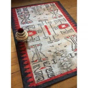 Southwestern designed rug