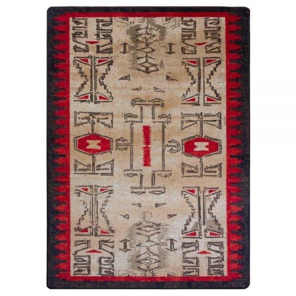 Aztec rug design